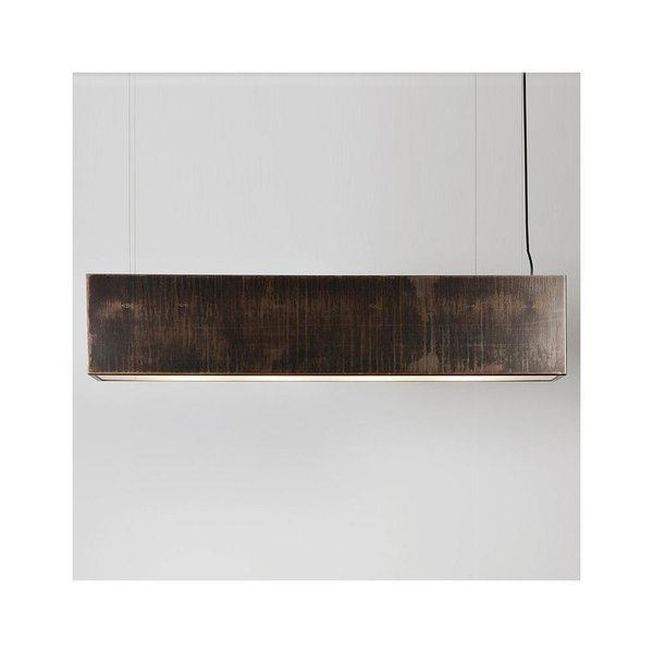 Light Three Linear Pendant by John Beck Steel