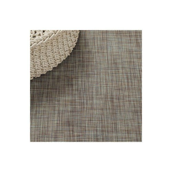 Mini Basketweave Floor Mat by Chilewich