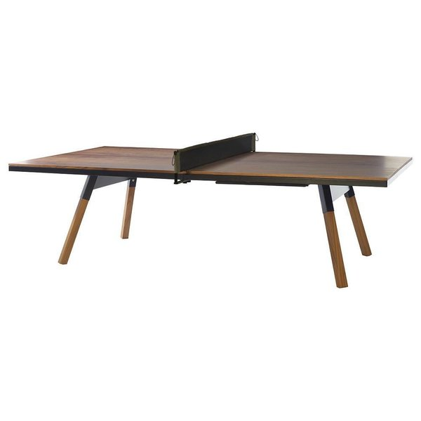 You and Me Walnut Ping Pong Table by RS Barcelona