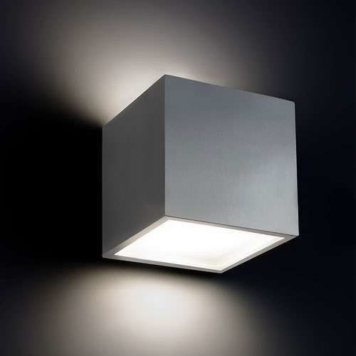 Bloc Outdoor LED Wall Light from Modern Forms