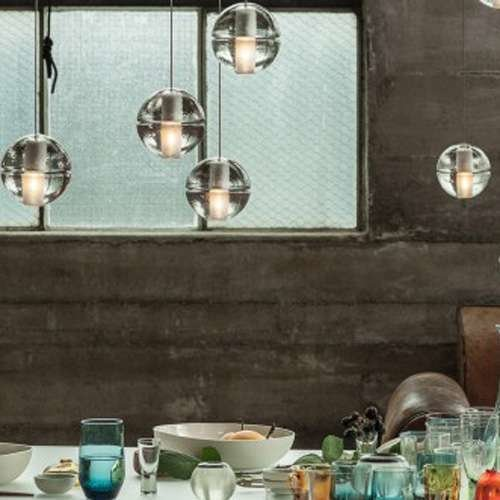 14.7 Seven Pendant Chandelier from Bocci