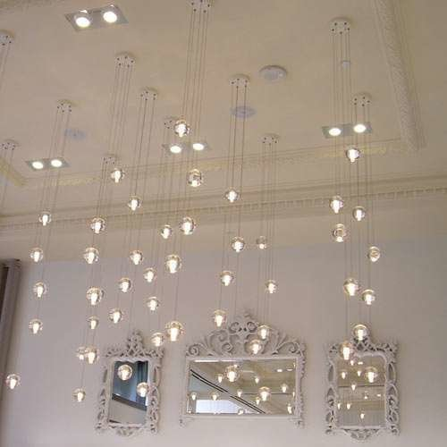 14.5 Five Pendant Chandelier from Bocci