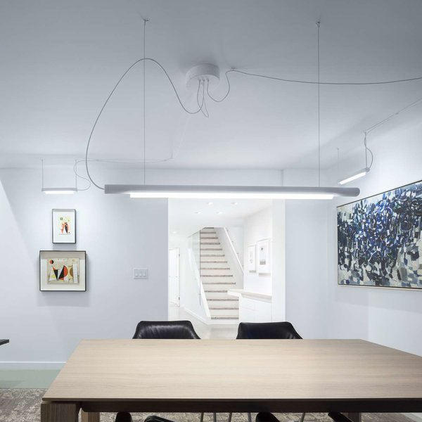 Pipeline 125 LED Linear Pendant Light from ANDlight