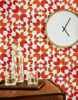 7 Wallpaper Designs That Will Instantly Revamp Your Space - Photo 3 of 14 - The wallpaper above is by Hygge & West and was screen-printed by hand in Chicago, IL.
