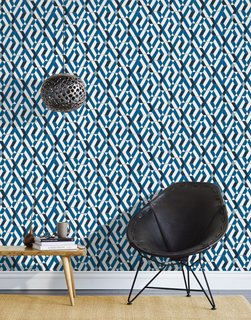 7 Wallpaper Designs That Will Instantly Revamp Your Space - Photo 4 of 14 - Here is another example of Hygge & West modern artisan wallpaper.