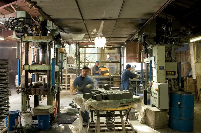 See how we make our dinnerware.  Photo 3 of 36 in Sausalito Dinnerware Factory Tour