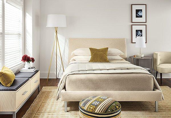 Tri-plex floor lamp, Capstone table lamp