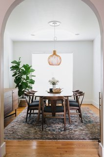 Ventura dining table and Evan chairs