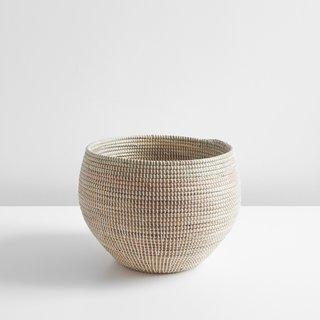 Tilden White Medium Basket