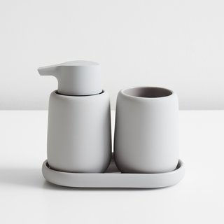 Sono Light Gray Soap Dispenser