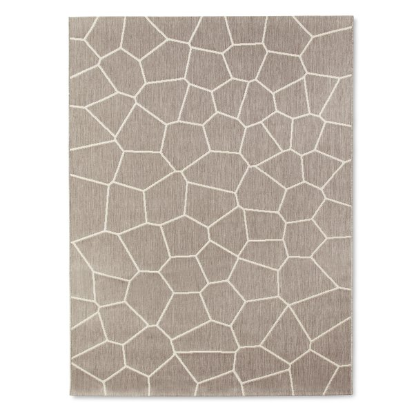 Outdoor Rug 5x7 or 8x10', $89.99-$129.99; available in gray or navy; designed by Chris Deam and Nick Dine for Modern by Dwell Magazine for Target