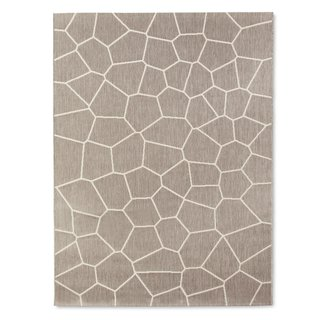 Modern by Dwell Magazine: Outdoor Collection - Photo 14 of 16 - Outdoor Rug 5x7 or 8x10', $89.99-$129.99; available in gray or navy; designed by Chris Deam and Nick Dine for Modern by Dwell Magazine for Target