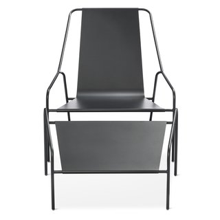 Modern by Dwell Magazine: Outdoor Collection - Photo 13 of 16 - Posture Chair and Ottoman Set, $269.99; available in gray, orange, or white; designed by Chris Deam and Nick Dine for Modern by Dwell Magazine for Target