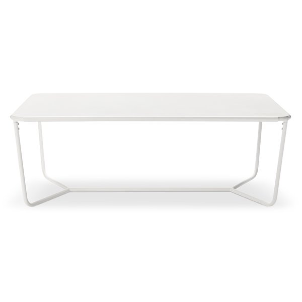 Outdoor Coffee Table, $129.99; available in gray or white; designed by Chris Deam and Nick Dine for Modern by Dwell Magazine for Target