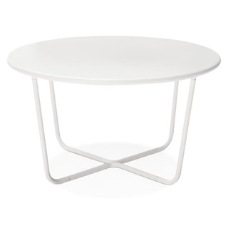 Modern by Dwell Magazine: Outdoor Collection - Photo 9 of 16 - Outdoor Side Table, $89.99, available in gray or white; designed by Chris Deam and Nick Dine for Modern by Dwell Magazine for Target