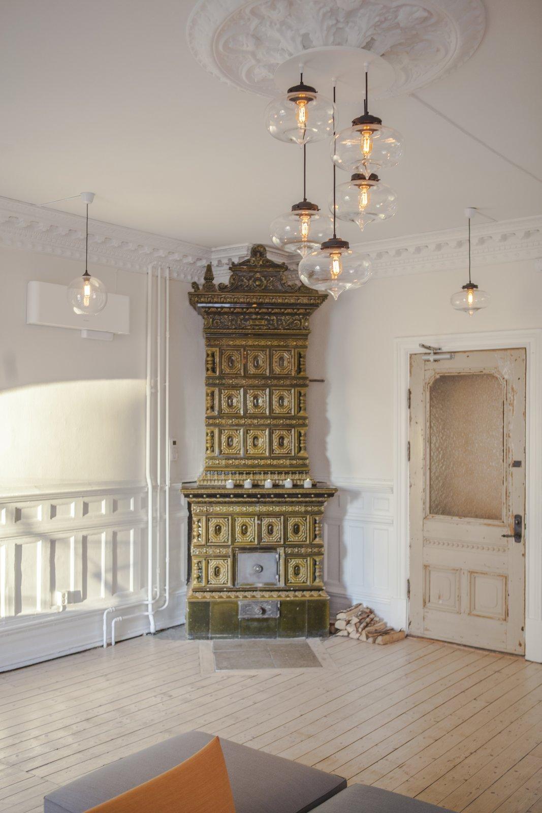 Photo 3 of 5 in Stunning Office Pendant Lighting Display Brightens Swedish Brand's Workspace
