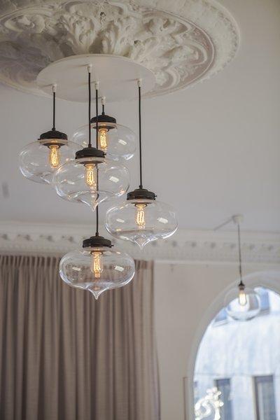 Photo 4 of 5 in Stunning Office Pendant Lighting Display Brightens Swedish Brand's Workspace
