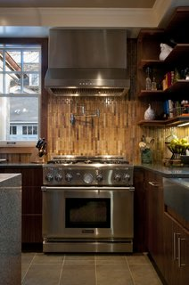 Private Boston Residence Shines Bright with Kitchen Island Pendant Lighting - Photo 2 of 3 -