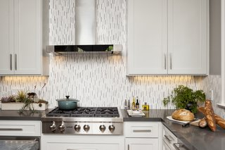 Contemporary Kitchen Island Pendants Spotted in California Home - Photo 2 of 4 -