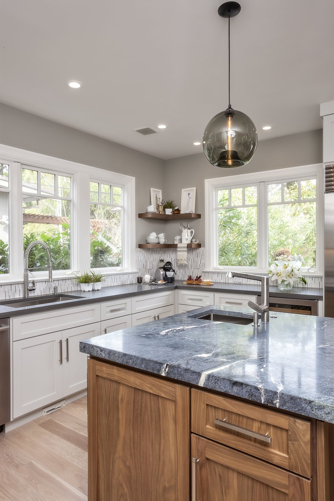 Photo 5 of 5 in Contemporary Kitchen Island Pendants Spotted in California Home
