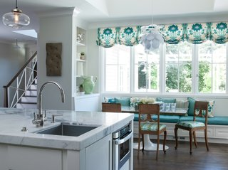 Modern Farmhouse Incorporates Contemporary Kitchen Island Pendant Lighting - Photo 3 of 3 -