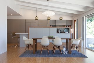 Pinterest Inspired Home Includes Niche Modern Kitchen Pendant Lights