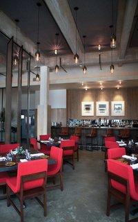Modern Restaurant Lighting at Adorns Creekside Hotel and Bar - Photo 3 of 4 -