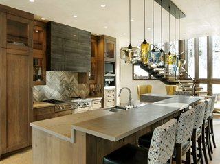 Cozy Colorado Retreat Features Multi-Pendant Modern Lighting - Photo 2 of 3 -