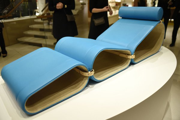 Marcel Wanders Launches Lounge Chair for Louis Vuitton - Photo 3 of 3 -