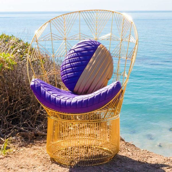 Peacock Lounge Chair from Bend Goods