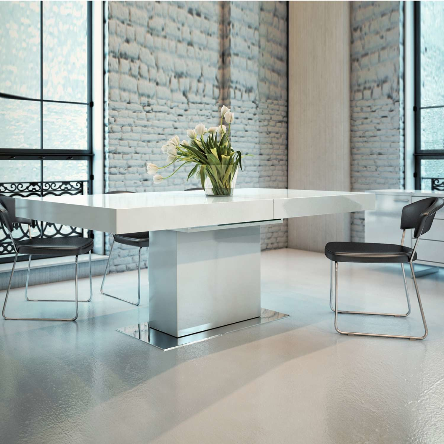 Astor Dining Table from Modloft by YLiving - Dwell
