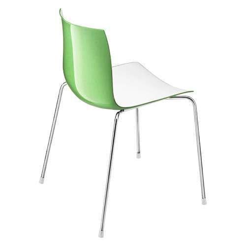 Catifa 46 Two Tone 4-Leg Chair from Arper