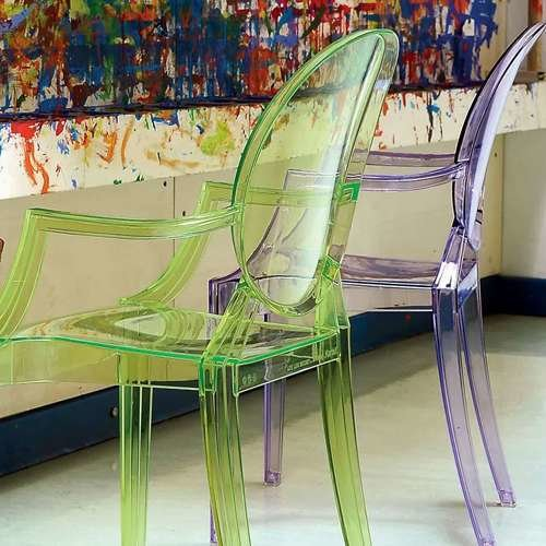 Lou Lou Ghost Child's Chair from Kartell