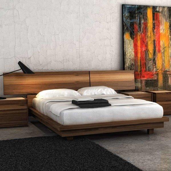SWAN Bed Queen from Huppe