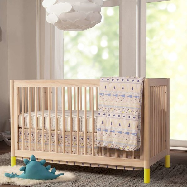 Gelato 4-in-1 Convertible Crib with Toddler Bed Conversion Kit from Babyletto