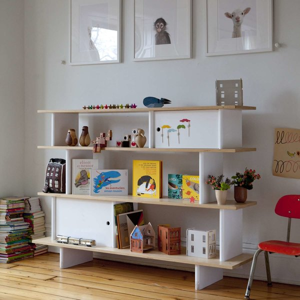 Mini Library Bookshelf from Oeuf