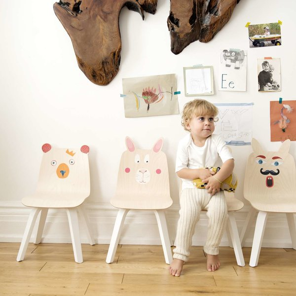 Rabbit Play Chairs, Set of 2 from Oeuf