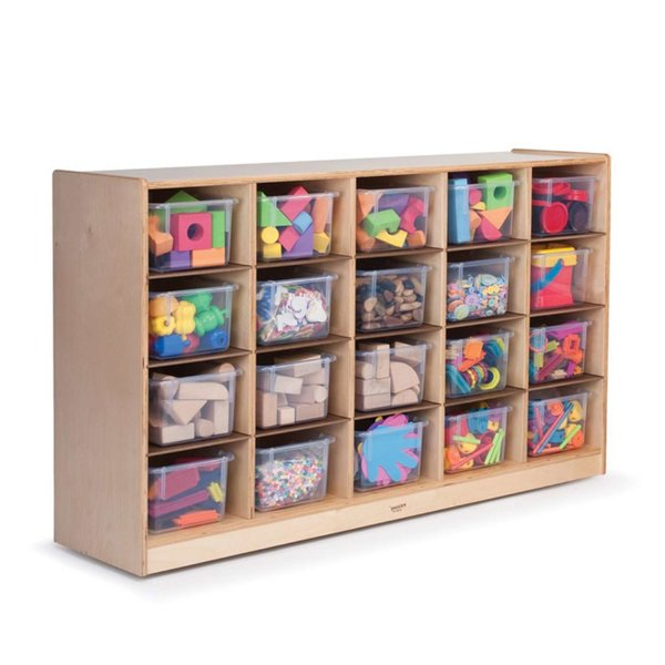 Cubby Tray Storage Cabinet from Whitney Brothers