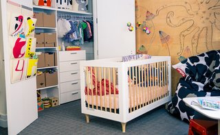 Wayfair & Designer Gunnar Larson give Rebecca Minkoff's kids a unique nursery makeover. Watch how CREATE Clear applied over a featured wood wall in the nursery lays the perfect backdrop for this high-end design, http://www.ideapaint.com/article/wayfair-roomover