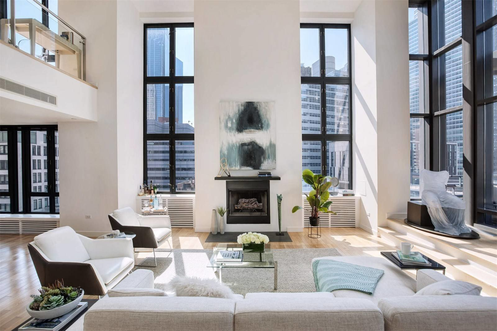 Tribeca Penthouse With Private Rooftop Asks 6 9m Modern
