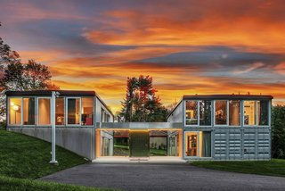 A Dreamy Shipping Container Home in New Jersey Asks $875K