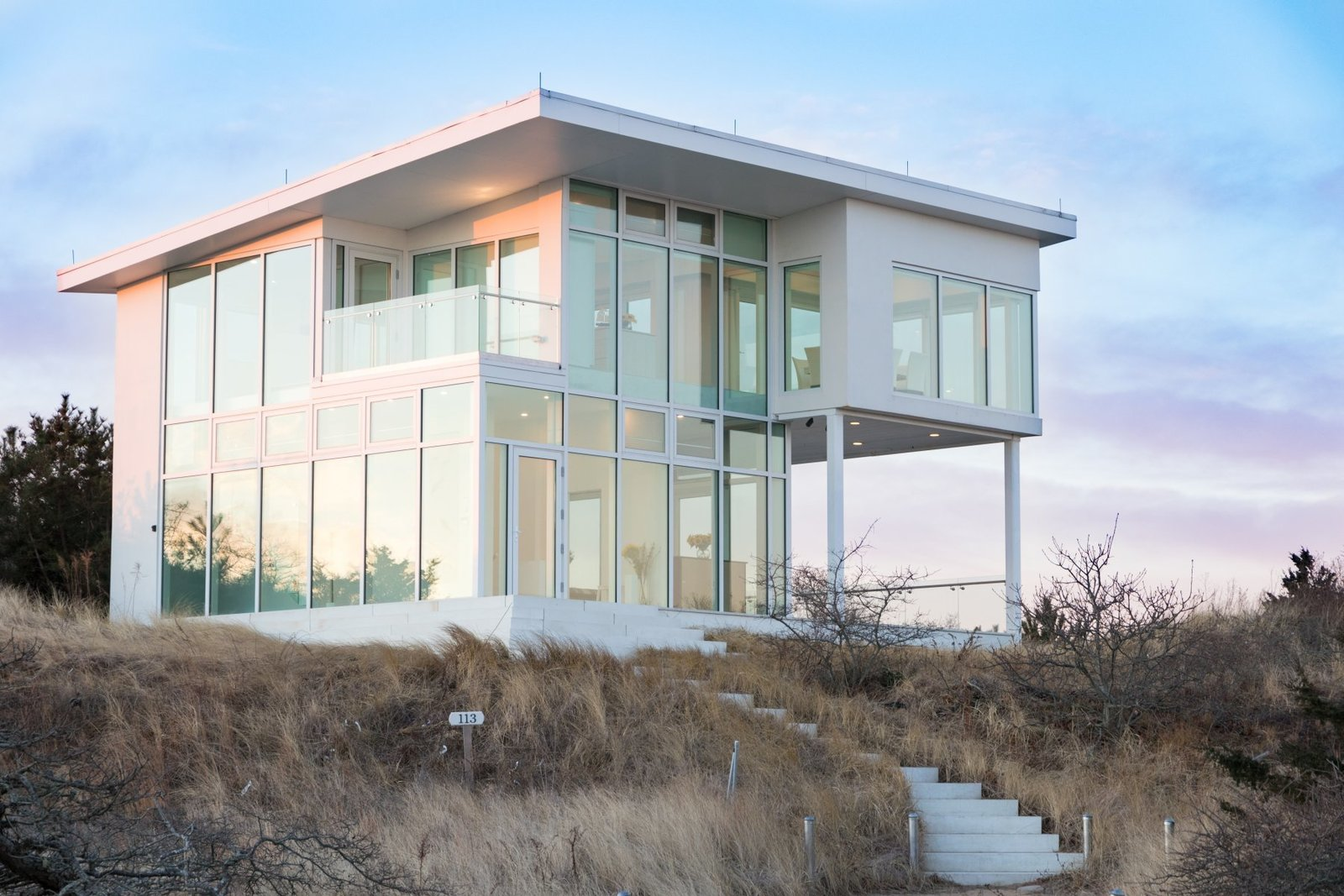 Exterior and House Building Type  Pieces from A Dreamy Cliffside Home On the Massachusetts Coast Asks $1.695M