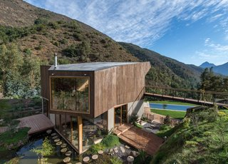 A Sustainable Mountain Home in Chile Asks $1.36M