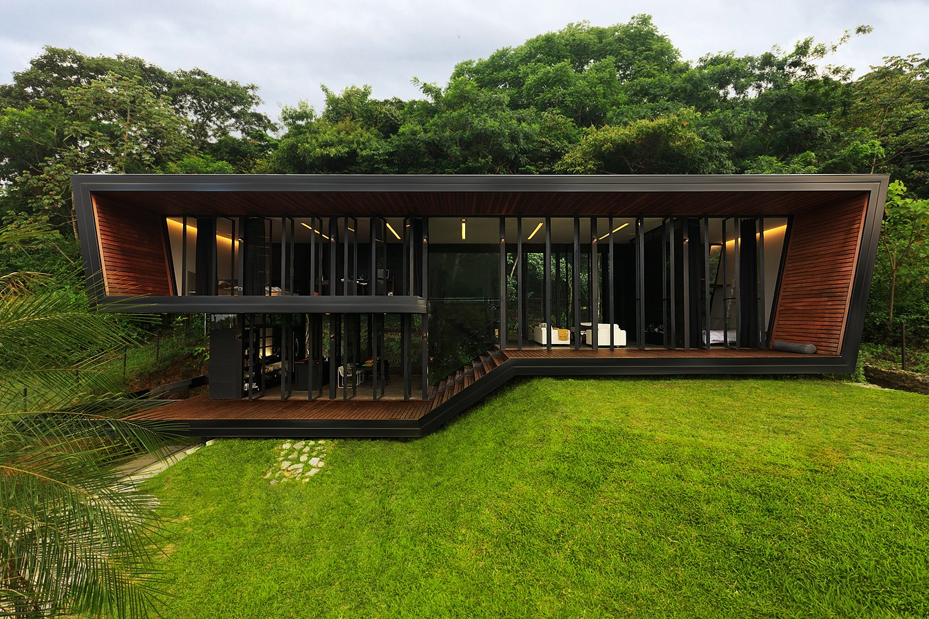 Exterior, House Building Type, and Flat RoofLine  A Harmonious Forest Residence in Costa Rica Asks $1.05M