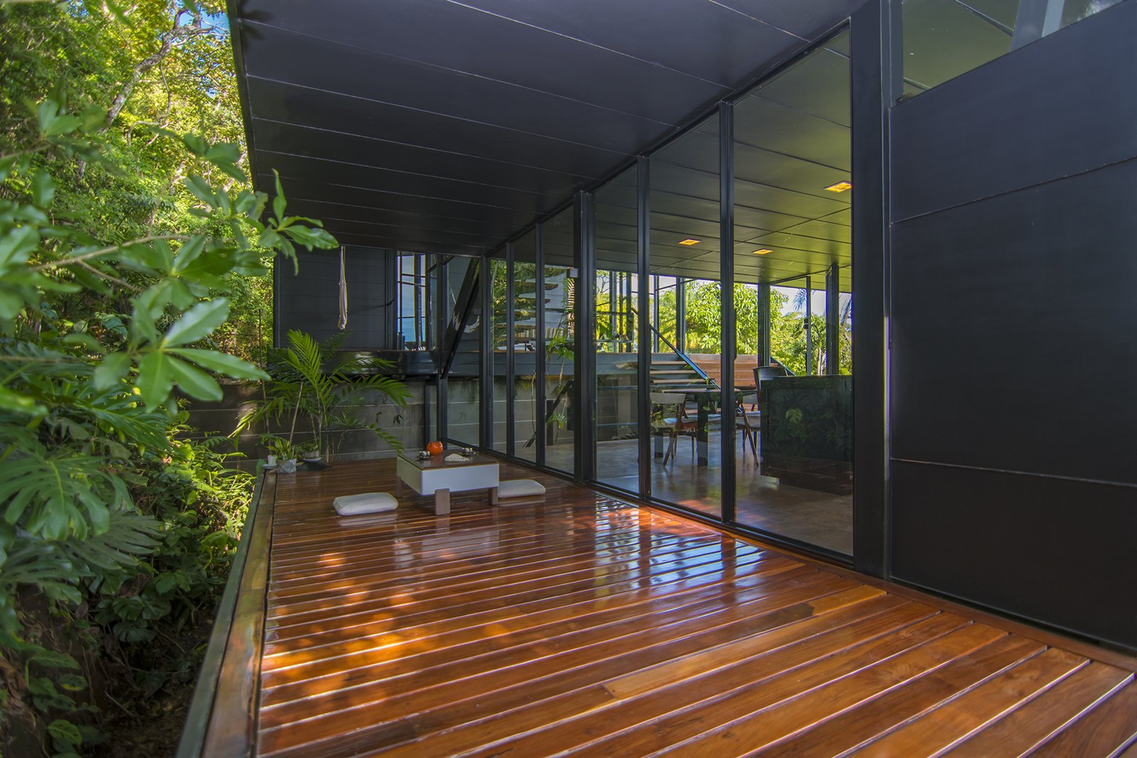 Outdoor and Wood Patio, Porch, Deck  A Harmonious Forest Residence in Costa Rica Asks $1.05M