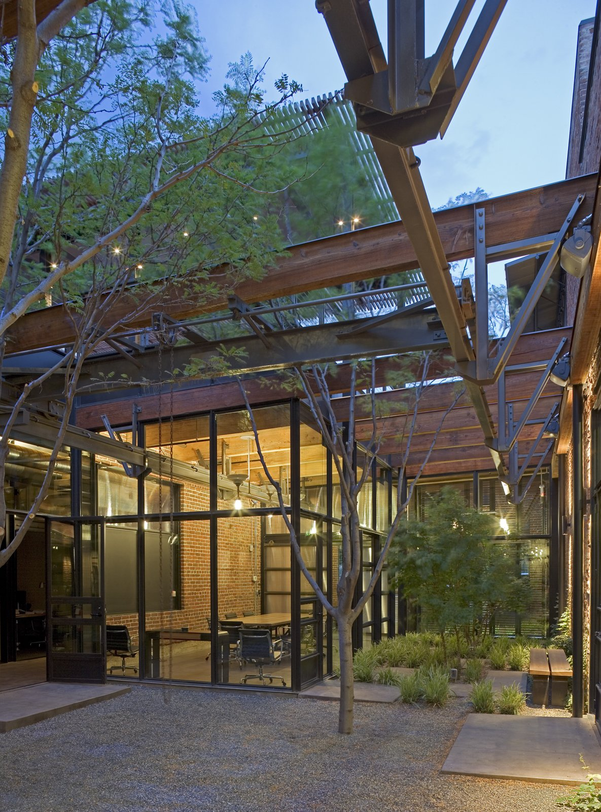 Armstrong Oil and Gas in Denver, Colorado. Designed by Lake|Flato Architects. Winner of the 2011 Institute Honor Award for Interior Architecture. Project description:  Photo 6 of 10 in 9 Inspirational Examples of Adaptive Reuse