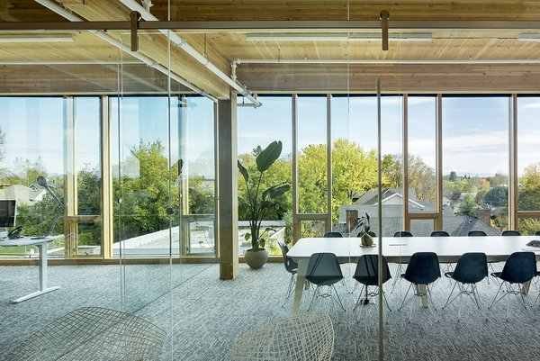 """""""For us, as a firm, we're more interested in thinking of ways to create buildings that elevate the human experience. Not only are these buildings sustainable and have a potential great impact on world economies, they're also beautiful places to work,"""" says Robinson."""
