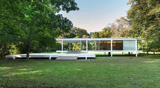 One of the most significant of Mies' works, the Farnsworth House in Plano, Illinois, was built between 1945 and 1951 for Dr. Edith Farnsworth as a weekend retreat. The home embraces his concept of a strong connection between structure and nature, and may be the fullest expression of his modernist ideals.
