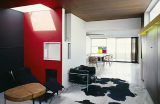 The Appartement-Atelier is on the top two floors of the Molitor building in Paris and was designed and built between 1931 and 1934 by Le Corbusier and Pierre Jeanneret. This is where the architect had his painting workshop and lived until he passed away in 1965.