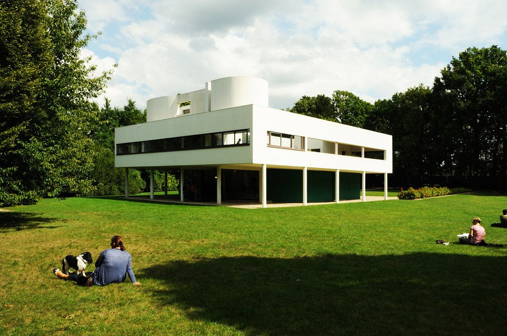 Located outside of Paris in Poissy,  Villa Savoye is the best illustration of Le Corbusier's five points of architecture. A modern take on a French country house the home is still considered to be one of the most significant contributions to modern architecture in the 20th century.  Photo 4 of 11 in Spotlight on 10 Influential Works by Le Corbusier
